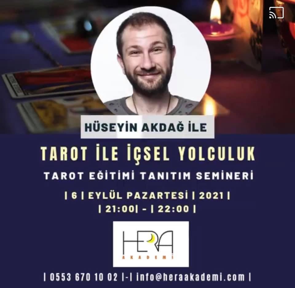 Tarot İle İçsel Yolculuk(Online Tarot Eğitimj)  ÜCRETSİZ TANITIM