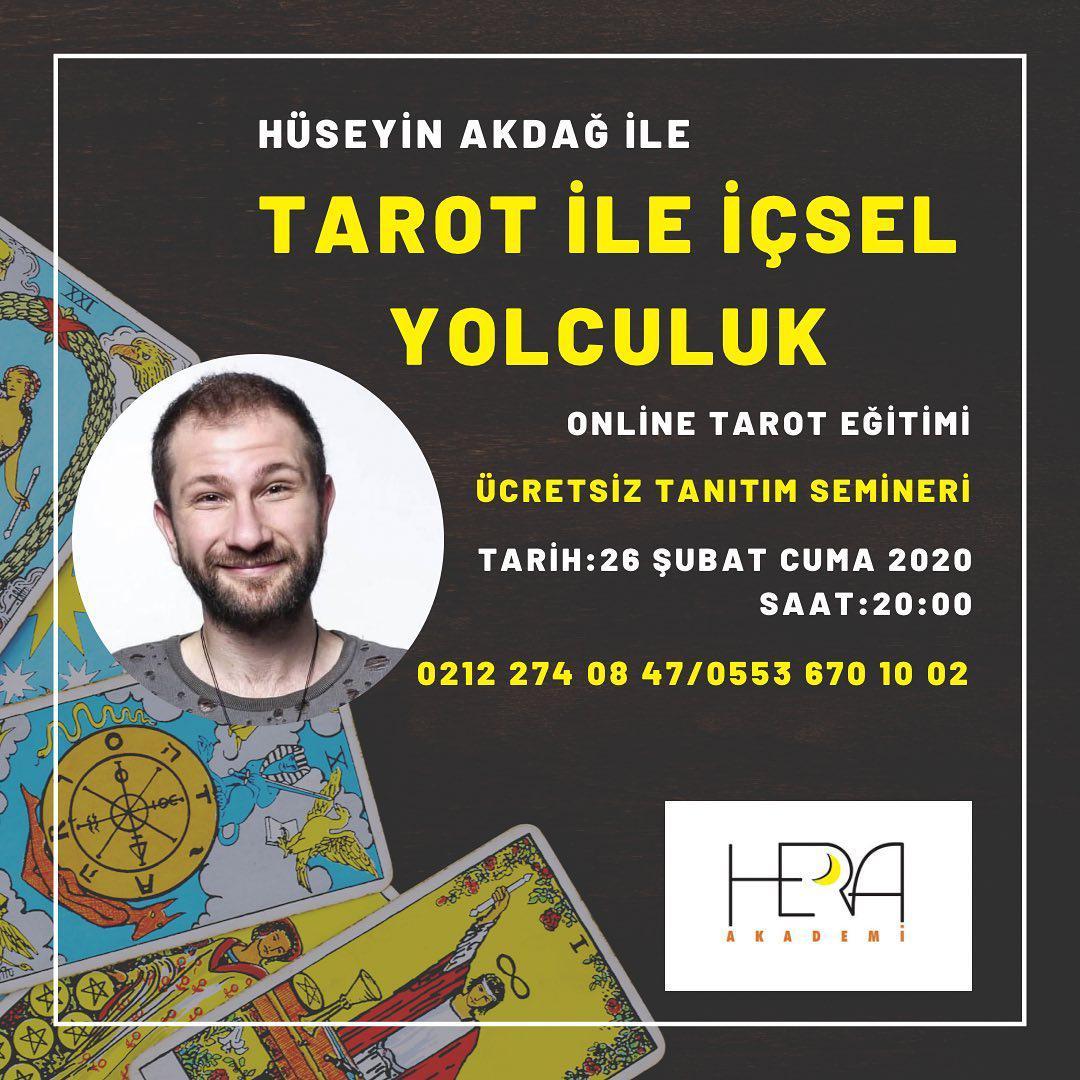Tarot İle İçsel Yolculuk (Tarot Eğitimi Online) Ücretsız Tanıtım Toplantısı