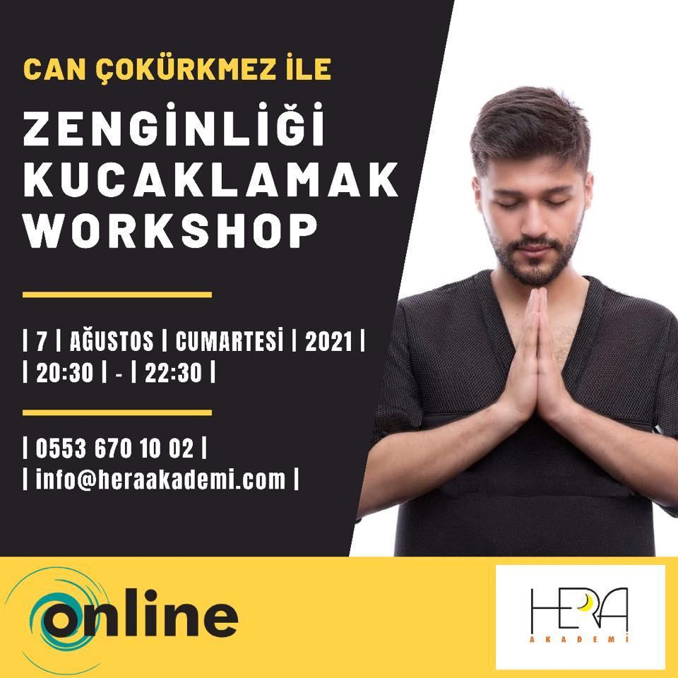 Can Çokürkmez İle Online  Zenginliği Kucaklamak Workshop Çalışması