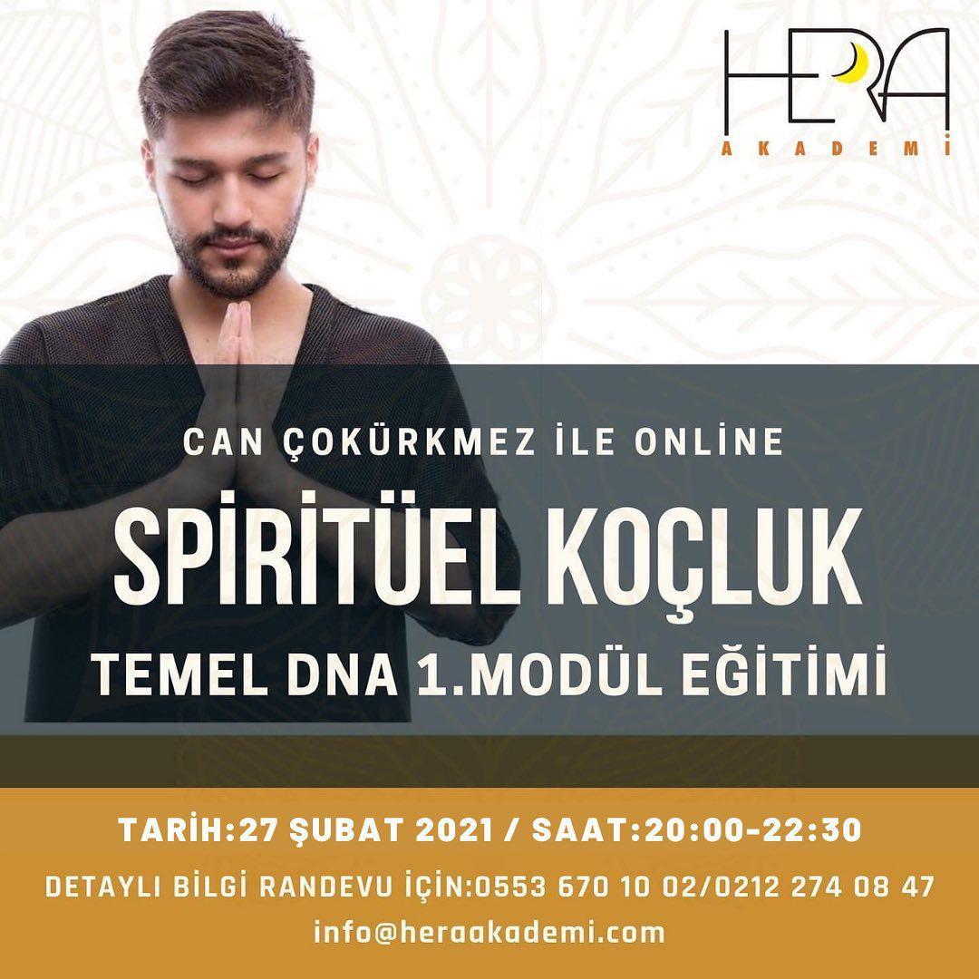 Online Uluslararası Spiritüel Koçluk Temel DNA Eğitimi 1. Modül